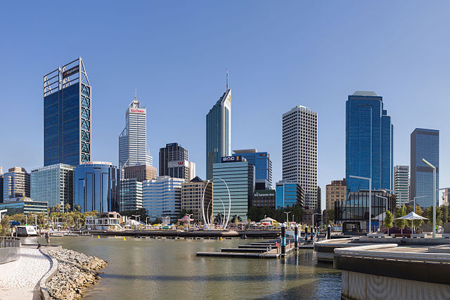 picture of Perth's Central Business District (CBD)